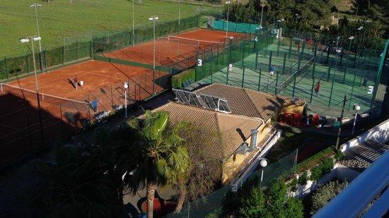 Don Miguel Playa Hotel: Pistas de tenis