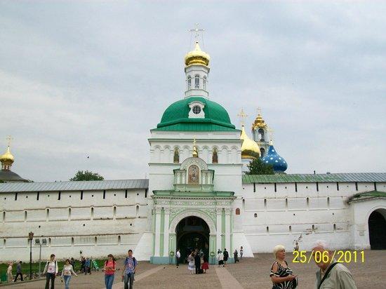 Crowne Plaza Moscow World Trade Centre: Monasterio Troiste-Serguelev
