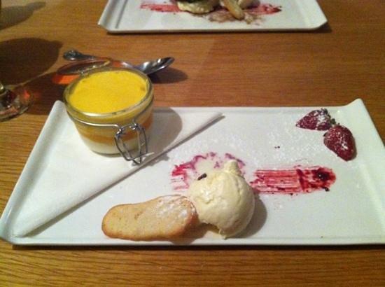 Il Piatto ristorante italiano: mango dessert