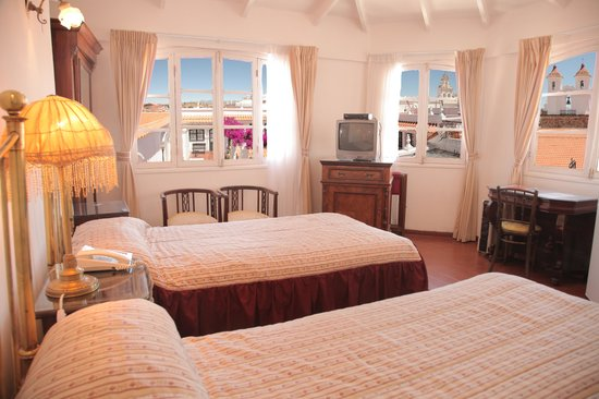 El Hostal de Su Merced: Sweeping views of the city from our Junior Suites