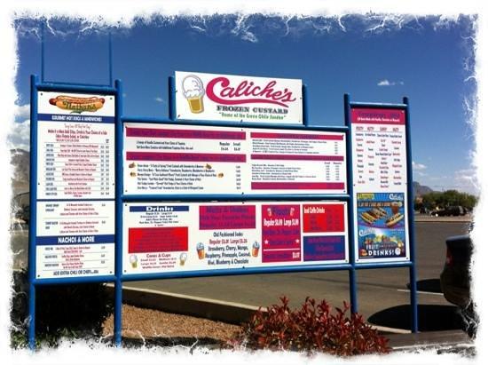 Caliche's Frozen Custard : Caliche's