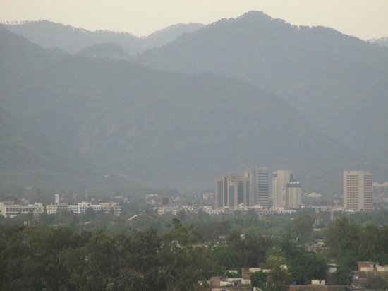 Pakistan Monument Museum : view of Margalla hills Islamabad