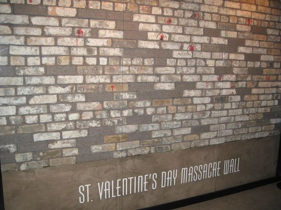 The Mob Museum: St. Valentineu0027s Day Massacre Wall