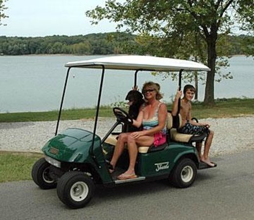 Kentucky Lakes / Prizer Point KOA: Golf Carts