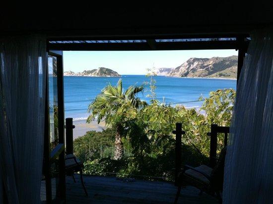 Rangimarie Beachstay: View from bedroom