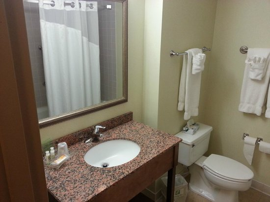 Holiday Inn Rutland/Killington: bathroom