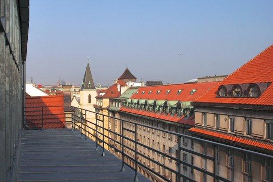Hotel Clement Prague: Aussicht vom Zimmer 8 .Etage