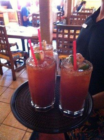 La Costa Mariscos: Michaladas!!! Best in town!!