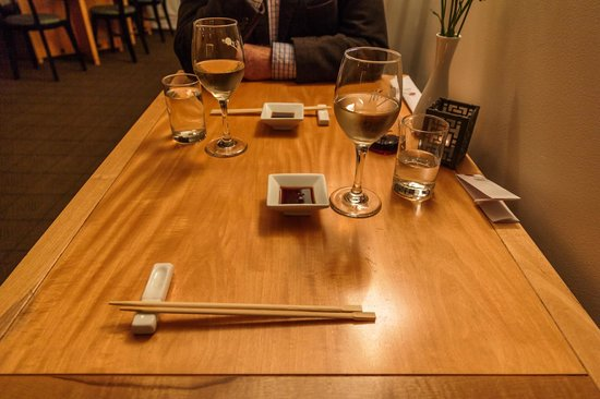 Miyazu Japanese Restaurant Simple table setup & Simple table setup - Picture of Miyazu Japanese Restaurant Nelson ...