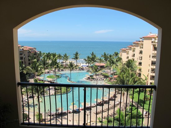 Villa del Palmar Flamingos: I loved the view from our balcony!