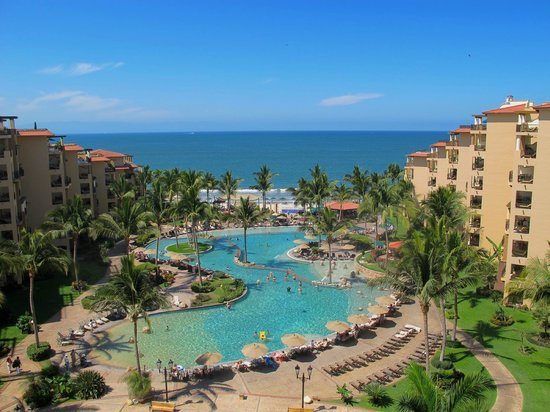 Villa del Palmar Flamingos: Amazing view from 7th floor unit above the lobby