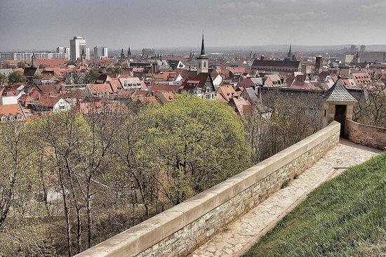 Victor's Residenz-Hotel Erfurt: Blick von der Festung