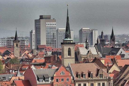 Victor's Residenz-Hotel Erfurt: Tolle Aussicht von der Festung