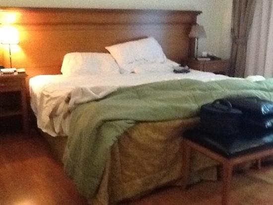 Hotel Villa Huinid Bustillo: Dormitorio.