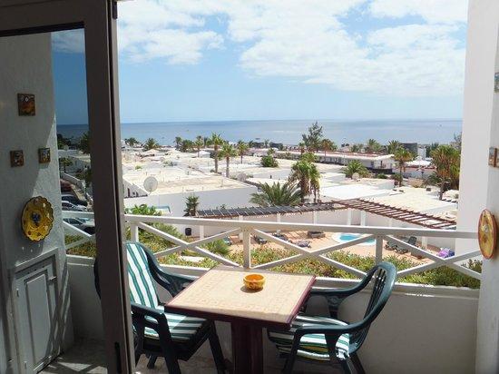 Las Vistas: looking towards beach , playa grande