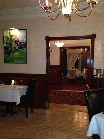 Chez Truchon Bistro Auberge : dining room