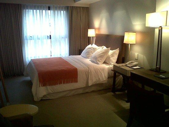 Serena Hotel: vista habitacion