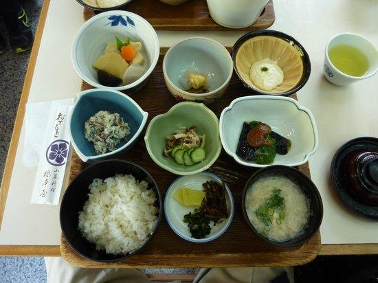 Uda, Japón: 山菜定食