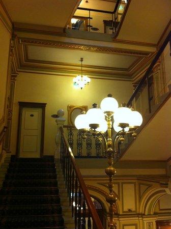 Hotel Kummer: 螺旋階段