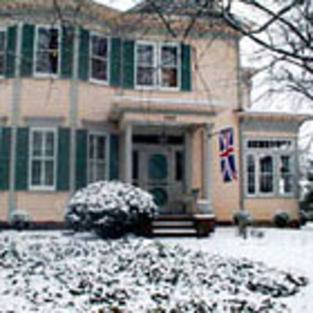 Charles Bass House: When it snows...