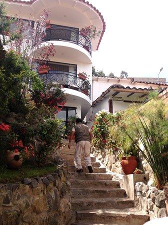 Encantada Casa Boutique Spa: View of the front steps