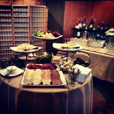 Winfield's Restaurant: Banquet Set Up