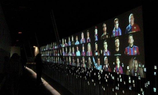 入場口 - Picture of Museu del Futbol Club Barcelona ...