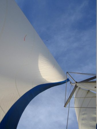 Nica Sail and Surf: Sails up