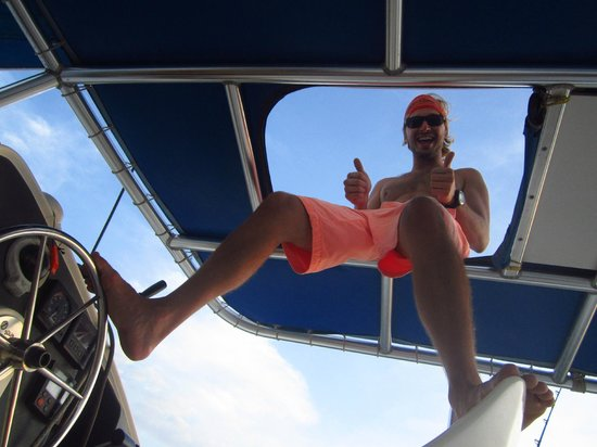 Nica Sail and Surf: Captain Zach