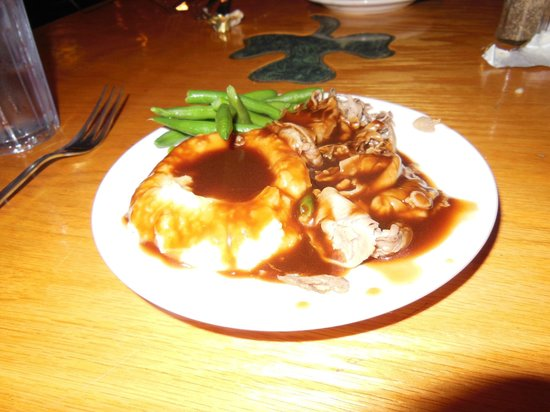 Flynn's Irish Tavern: All you can eat roast beef.