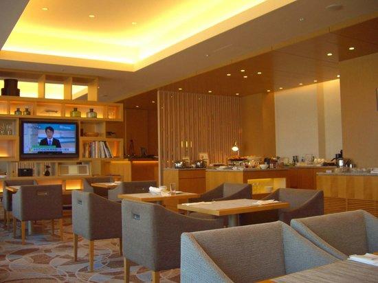 Club Lounge 1 Picture Of Sheraton Grand Hiroshima Hotel Hiroshima Tripadvisor
