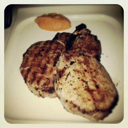 Al Biernat's: double bone chop