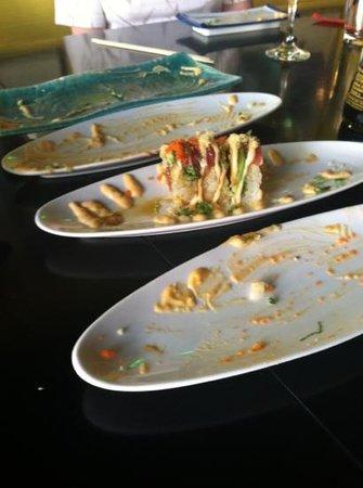 Tiga Sushi Bar & Japanese Restaurant: I'd say we liked everything!!