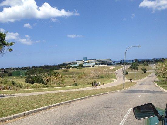 Playas de Este: VISTA DEL HOTEL TROPICOCO
