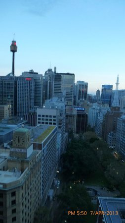 Amora Hotel Jamison Sydney: View from our room 23rd floor