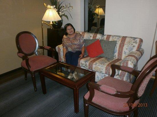 Hotel Eden54: Communal Lounge Area