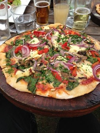 Wild on Waiheke: pizza