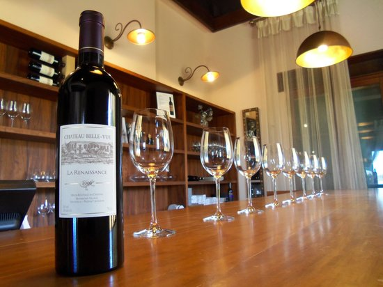 Le Telegraphe de Belle-Vue: Fabulous local organic wines