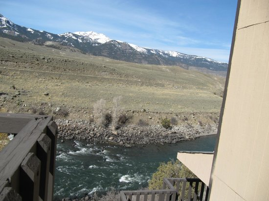 BEST WESTERN PLUS By Mammoth Hot Springs: Our View ... room to right of picture