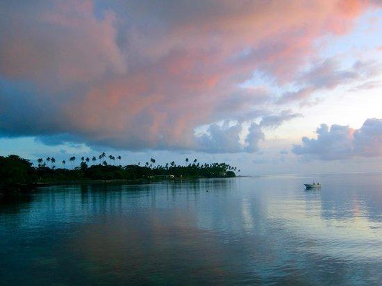 Paradise Taveuni: sunset
