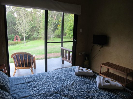 Milton Country Cottages: View from room