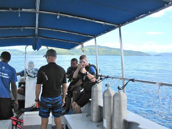 Paradise Taveuni: dive
