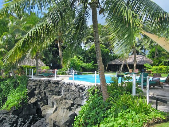 Paradise Taveuni: pool