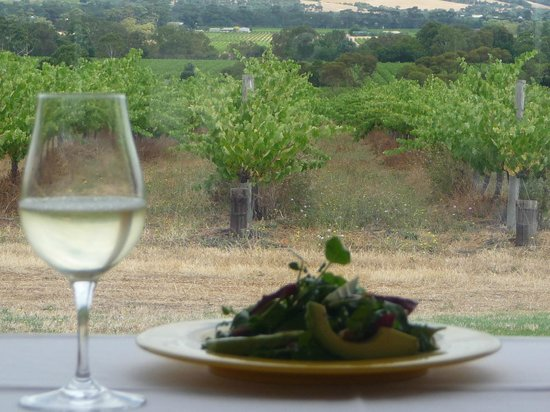 McLaren Vale, Avustralya: Lunch with a View