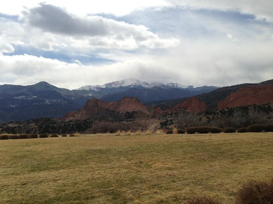 Garden of the Gods Collection: View from our south patio room