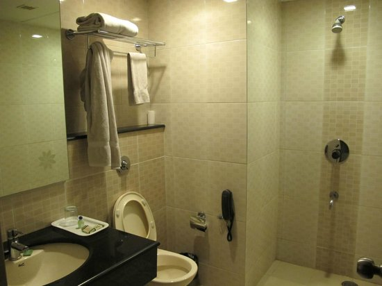 Hotel Jade Garden: Very clean bathroom...