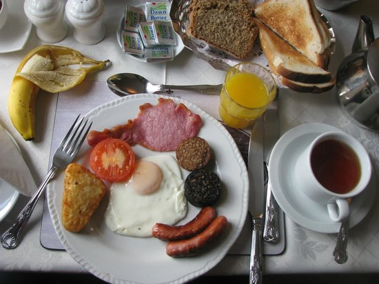 Falshea House B&B: Falshea House - Full Irish Breakfast - Yum!
