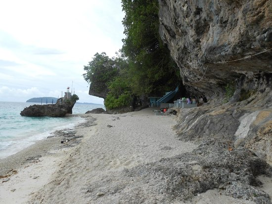 Overview of Tangkaan beach