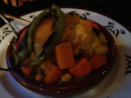 Topkapi: vegetarian dish