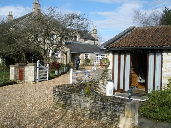 The Beeches Farmhouse: milking shed to house